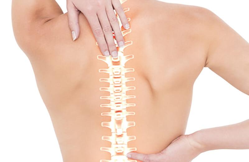 頸椎、胸椎の歪み