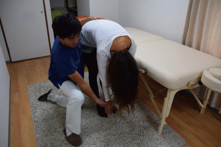 腰痛の原因を検査