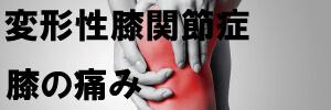 変形性膝関節症、膝痛