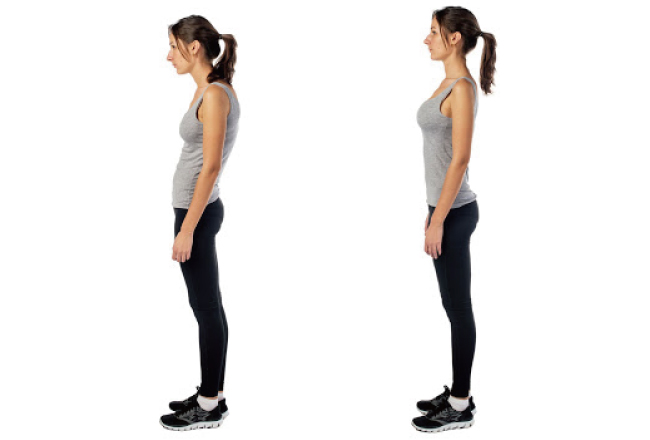 姿勢のチェック画像